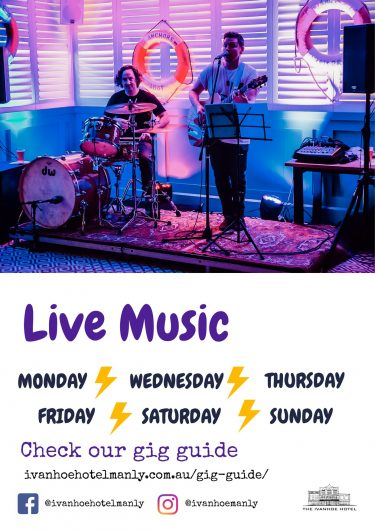 WEB UPDATED - LIVE MUSIC