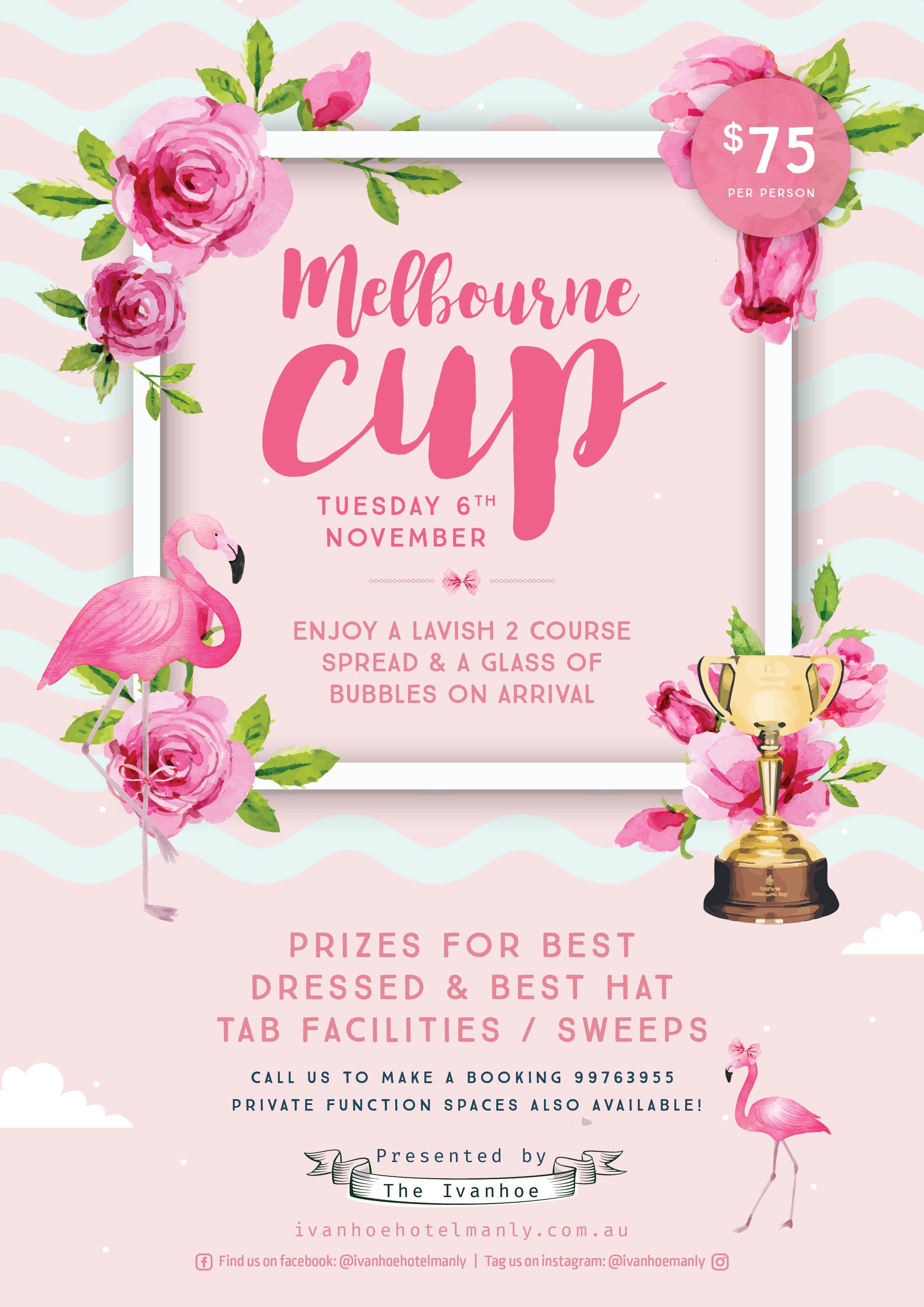 Melbourne cup prizes clip